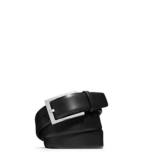 Mens Leather Belt by Michael Kors in Paper Towns
