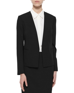 Delaven Open-Front Suit Jacket by Theory in Supergirl