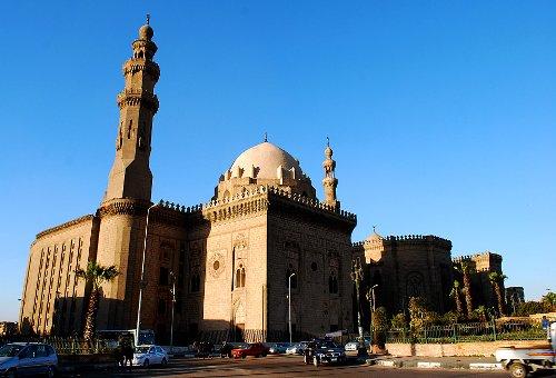 Al-Sultan Hassan Mosque Cairo, Egypt in American Sniper