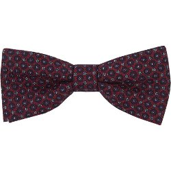 Circle-Pattern Bow Tie by Thomas Mason in New Year's Eve