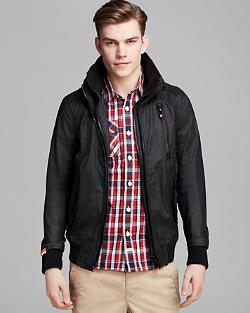 Moody Ripstop Bomber Jacket by Superdry in Step Up: All In