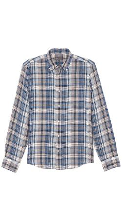 Linen Sport Shirt by Vince in A Walk Among The Tombstones