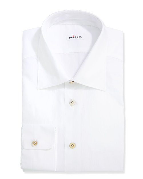 Basic Poplin Dress Shirt by Kiton in The Man from U.N.C.L.E.