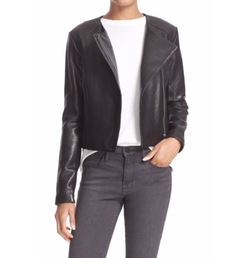 Dali Lambskin Leather Jacket by Veda in The Good Place