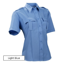 Short Sleeve Polyester Solid Shirt by Duty Pro in Dope
