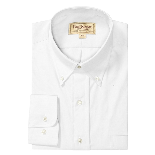 Two-Ply Cotton Shirt by Paul Stuart in Bridge of Spies