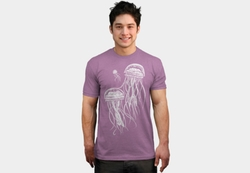 Glowing Jellyfish Shirt by Design by Humans in Modern Family