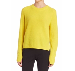 Valentina Cashmere Cropped Sweater by Rag & Bone in Collide