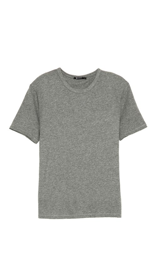 Classic Short Sleeve T-Shirt by T by Alexander Wang in The Town