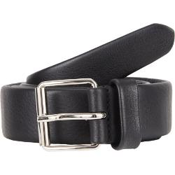 Crisscross Stitched Leather Belt by BARNEYS NEW YORK in Brick Mansions