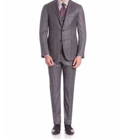 Three-Piece Wool Suit by Pal Zileri in The Blacklist