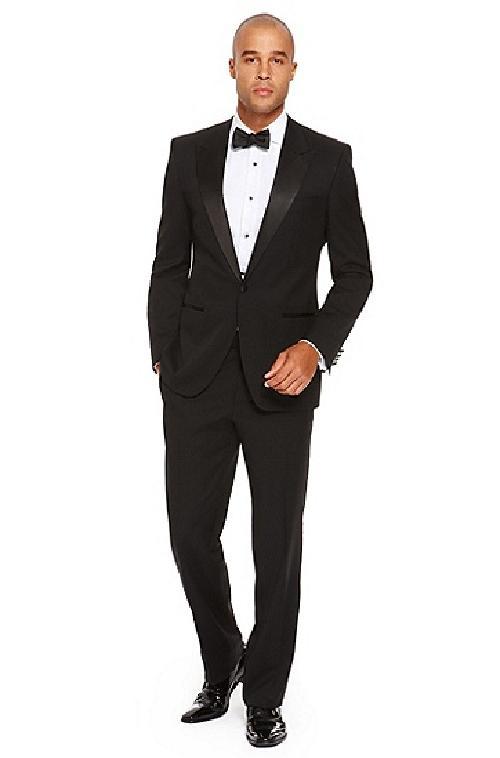 Comfort Fit, Italian Virgin Wool Tuxedo by Boss in The Great Gatsby