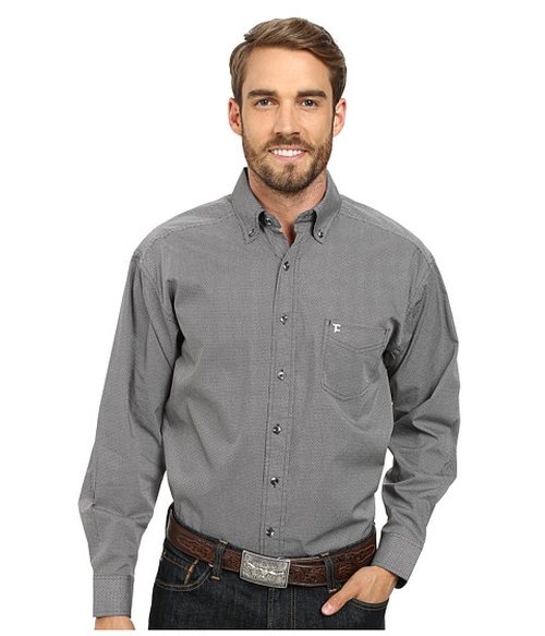 Long Sleeve Button Down by Tuf Cooper by Panhandle in Spotlight