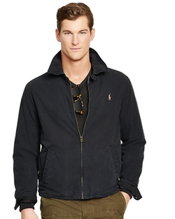 Cotton Landon Windbreaker by Ralph Lauren in The Forest
