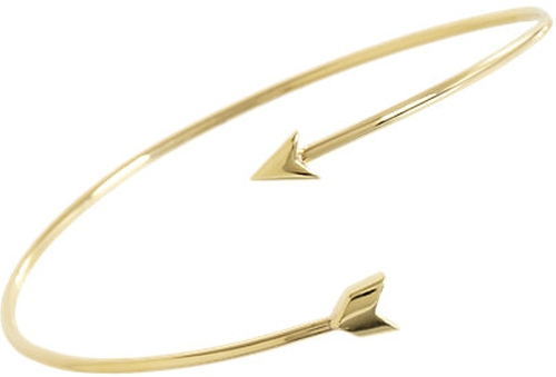 Arrow Bangle by Finn in Suits
