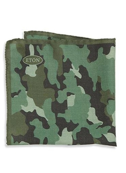 Camo Pocket Square by Eton of Sweden in Ballers