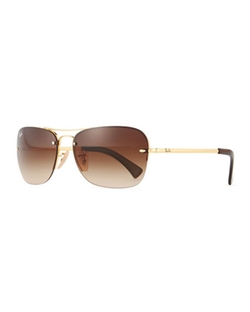 Metal Aviator Sunglasses by Ray-Ban in Hell or High Water