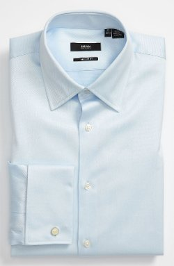 'Lawrence' Us Regular Fit Dress Shirt by Boss Hugo Boss in While We're Young