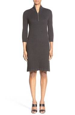 New Pickford Half-Zip Sweater Dress by Tommy Bahama in The Good Wife