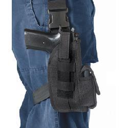 Black - Leg Strap Tactical Holster Glock by galaxyarmynavy in Sabotage