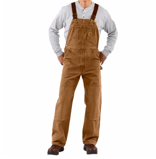 Sandstone Duck Bib Overalls by Carhartt in The Ranch - Season 2 Episode 6