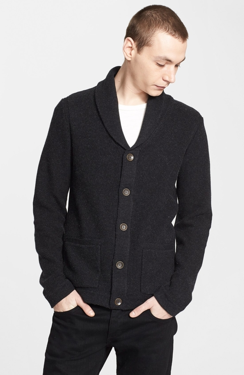 'Avery' Shawl Collar Cardigan by Rag & Bone in Knock Knock