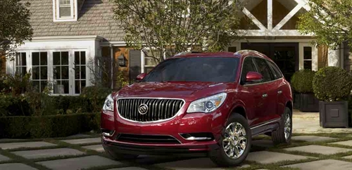 Enclave SUV by Buick in Modern Family - Season 7 Episode 20