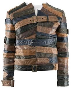 Leather Belt Jacket by Maison Martin Margiela x H&M in Empire
