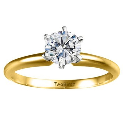 Diamond Round Traditional Style Ring by TwoBirch in Jem and the Holograms