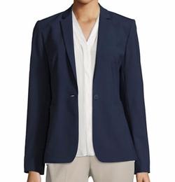 Darcy One-Button Stretch-Wool Jacket by Elie Tahari in Billions