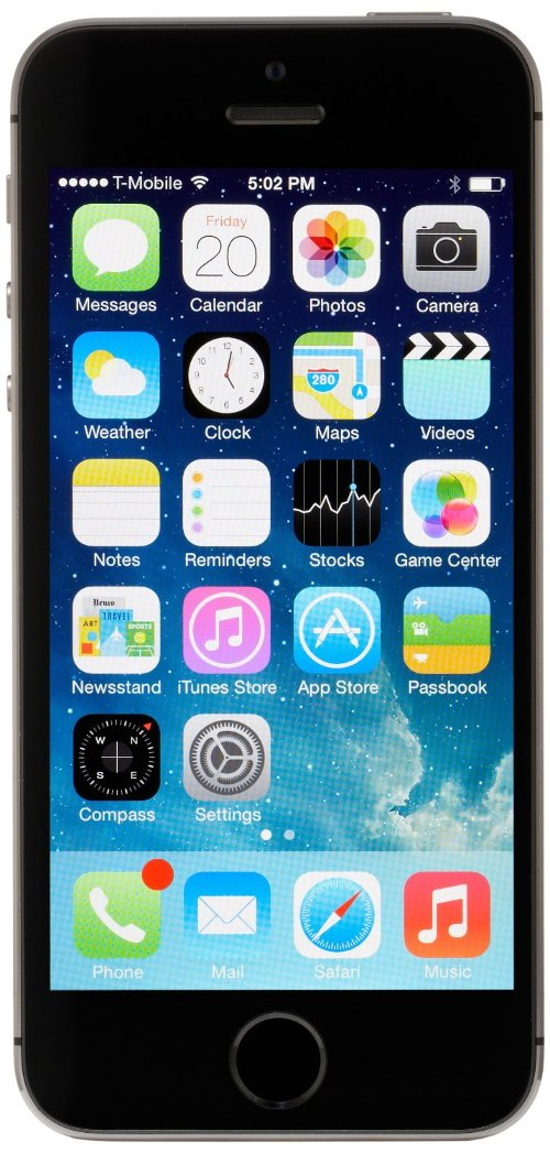 iPhone 5s by Apple in Need for Speed