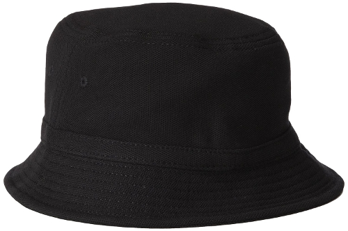 Cotton Pique Bucket Hat by Lacoste in Dope