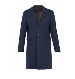 Garret Single-Breasted Wool Overcoat by Acne Studios in Alex, Inc.