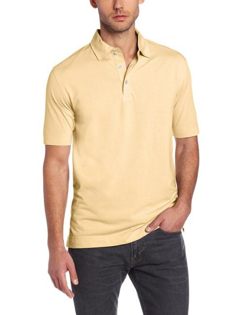 Men's Medina Tonal Polo Shirt by Cutter & Buck in The Disappearance of Eleanor Rigby