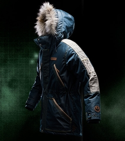 Captain Cassian Andor Rebel Parka by Columbia in Rogue One: A Star Wars Story