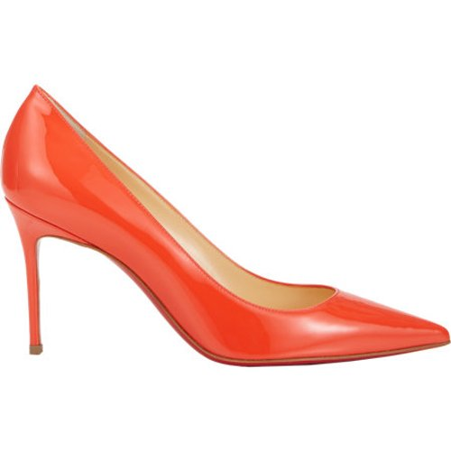 Patent Decollete Pumps by Christian Louboutin in The Other Woman