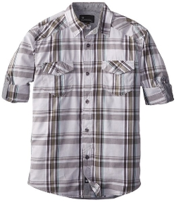 Big Boys' Bondo Woven Shirt by Burnside in San Andreas