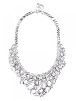 The Heartbreaker Bib Necklace by Baublebar in Scream Queens
