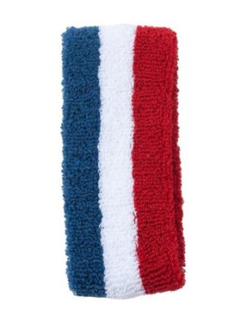 US Stripe Unisex Flex Terry Headband by American Apparel in Neighbors
