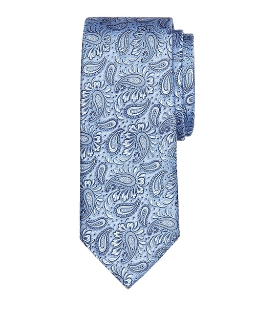 Large Paisley Tie by Brooks Brothers in Suits - Season 5 Episode 9