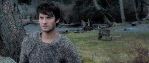 Custom Made Medieval Knit Gray Pullover  (Tom Ward) by Jacqueline West (Costume Designer) in Seventh Son