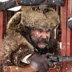 Custom Made 'The Hangman' Fur Hat by Merlin's Hide Out (Costume Designer) in The Hateful Eight