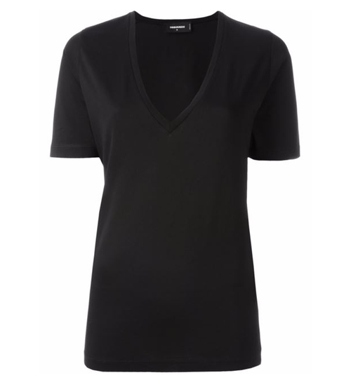 V-Neck T-Shirt by Dsquared2 in Keeping Up With The Kardashians - Season 12 Episode 6
