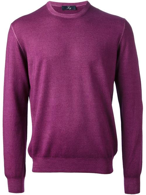 Round Neck Sweater by Fay in Ride Along