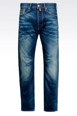 Medium Wash Anti-Fit Jeans by Armani Jeans in Magic Mike XXL