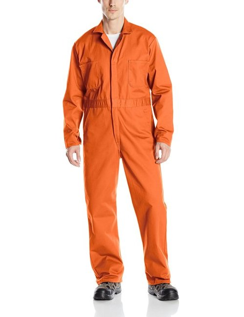 Snap Front Cotton Coverall by Red Kap in Need for Speed