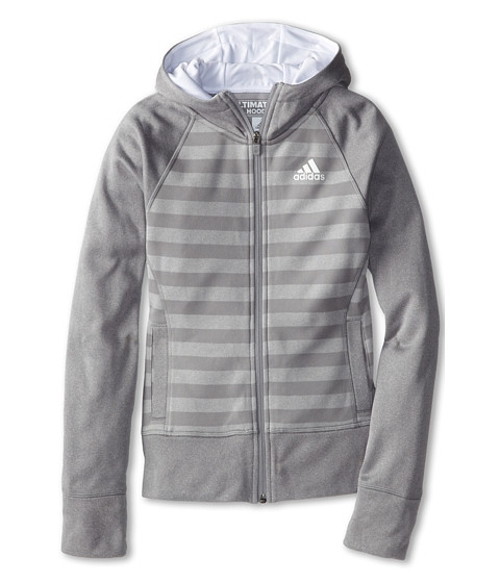 Big Kids Ultimate Full Zip Fleece by Adidas in Max