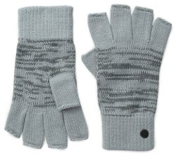 Men's Marled Knit Fingerless Gloves by Levi's in If I Stay