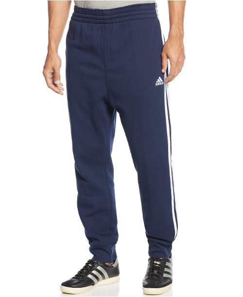 Striped Slim-Fit Sweatpants by Adidas in Barely Lethal