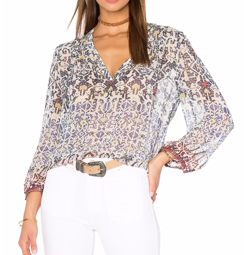 Frazier B Blouse by Joie in Mistresses - Season 4 Episode 3